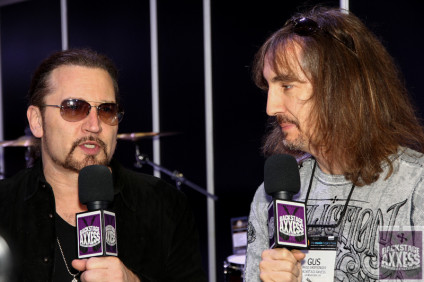Eric Singer of KISS at NAMM 2016