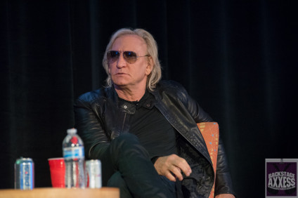 Joe Walsh at TEC Tracks during NAMM 2016