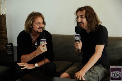BackstageAxxess interviews Gregg Rollie at the Lakeview Ampitheater in Syracuse on June 3, 2016.