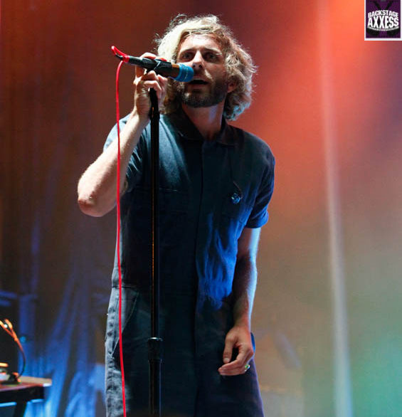 Members of AWOLNATION perform on stage during Kerfuffle 2016 at Canalside in Buffalo, N.Y. on July 23, 2016. (Nicholas T. LoVerde/Backstage Axxess)