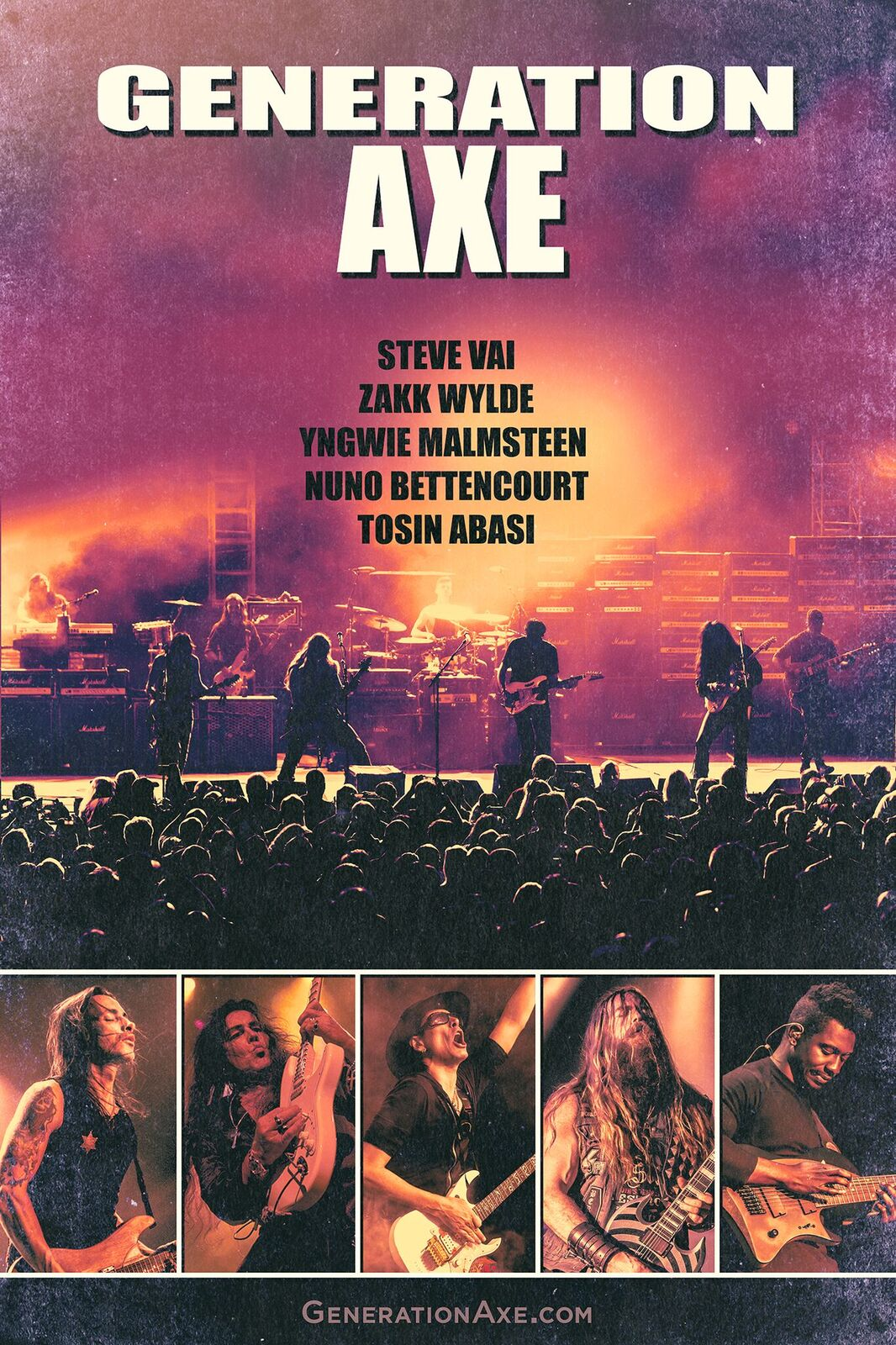 Generation Axe North American Tour Commences November 7 Backstage